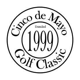 Cinco de mayo golf classic circle logo founded in 1999